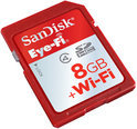 Sandisk Eye-Fi SD kaart 8 GB