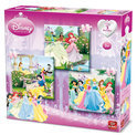 Disney 3 in 1 Puzzel Princess