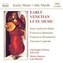 Early Venetian Lute Music - Dalza, et al/Wilson, Rumsey