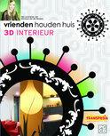 Vrienden Houden Huis, 3d Interieur Met Monique Van Der Reijden