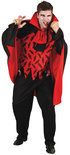 Halloween Superluxe Graaf Desmodus - Kostuum - Maat M/L - Zwart