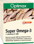 Optimax Super Omega3 500 mg + Vitamine E 100mg - 90 capsules - Visolie - Voedingssupplement