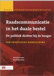 Mark Hendrikx boek Raadscommunicatie In Het Duale Bestel Paperback 36456691