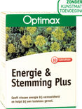 Optimax Energie en Stemming Plus Tabletten 60 st