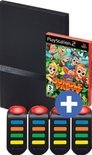 PlayStation 2 Console - Black & Buzz Junior - Jungle Party