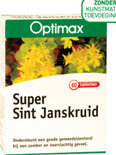 Optimax Super Sint Janskruid - 60 Tabletten - Voedingssupplementen
