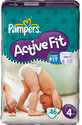 Pampers Active Fit - Luiers Maat 4 - Voordeelpak 46st