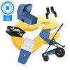 Koelstra Binque Daily Pack - Kinderwagen Compleet - Cobalt Blauw
