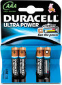 Duracell AAA Ultra Power Batterijen - 4 stuks