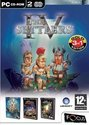 Settlers 4 Gold - Settlers 4 & Mission Cd & Add-Ons The Trojans & The Elixir Of Power)
