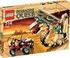 LEGO Pharaoh's Quest Het Vervloekte Cobrastandbeeld - 7325