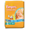 Pampers Simply Dry - Luiers Maat 5 - Voordeelpak 41st