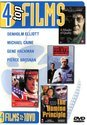 Benza DVD - 4 Top films op 1 dvd - A Murder of Quality/The Fourth Protocol/The Domino Principle/The Whistle Blower