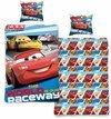 Disney Cars Kinder - Dekbedovertrek - Eenpersoons - 140x200 cm - Blauw