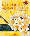 Bloemen Aquarelleren Van Foto'S