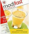 Modifast - Banaan Milkshake - 9 stuks - Drinkmaaltijd
