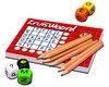 Afbeelding van het spelletje Kruiswoord Bloks - Dobbelspel