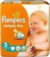 Pampers Baby luier Simply Dry Maat 5 - 120 stuks