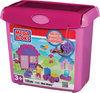 Mega Bloks Mini Bloks Bucket - Roze - Constructiespeelgoed