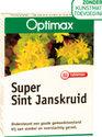 Optimax Super Sint Janskruid - 60 Tabletten - Voedingssupplementen