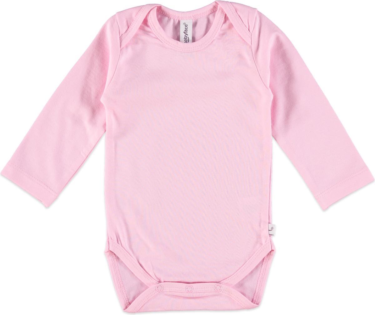 Babyface Unisexrompertje - Pink - Maat 50 / 56