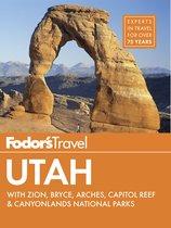 Omslag van 'Fodor's Utah'