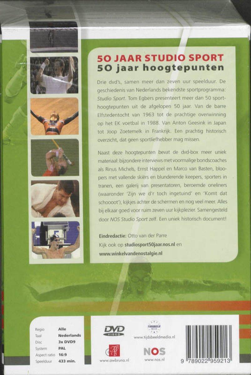 50 jaar studio sport dvd bol.| 50 Jaar Studio Sport (3DVD) (Dvd) | Dvd's 50 jaar studio sport dvd