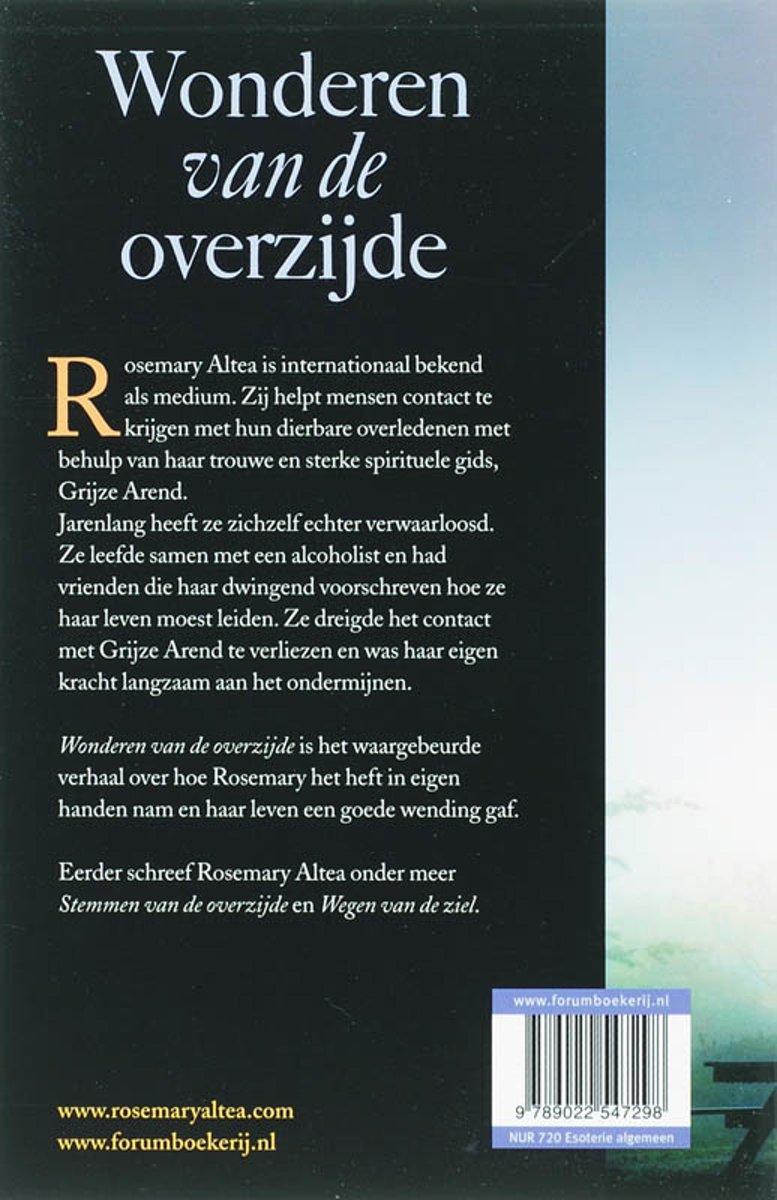 bol.com | Wonderen Van De Overzijde, Rosemary Altea | 9789022547298 | Boeken