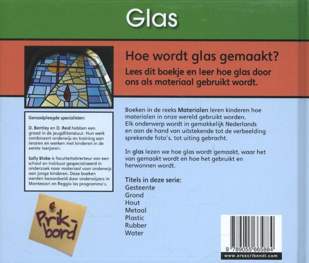 Waar Wordt Glas Van Gemaakt.Bol Com Materialen Prb Glas 9789055665884 Cassie