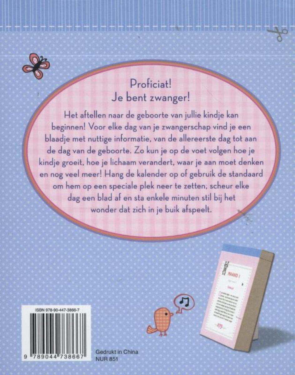 Bolcom Deltas Zwangerschapsscheurkalender