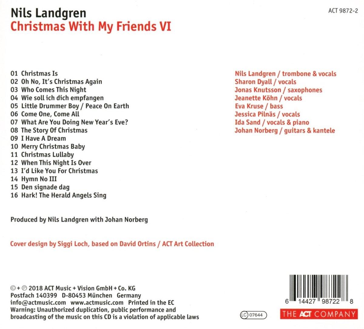 bol.com | Christmas With My Friends Vi, Nils Landgren | CD (album ...