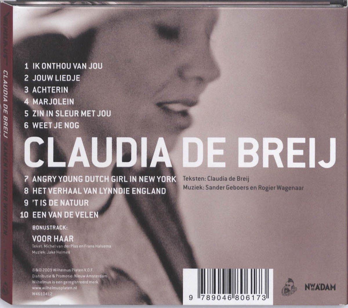 Super bol.com | Claudia de Breij - Samen Wakker Worden, Ergens Heen @LR43