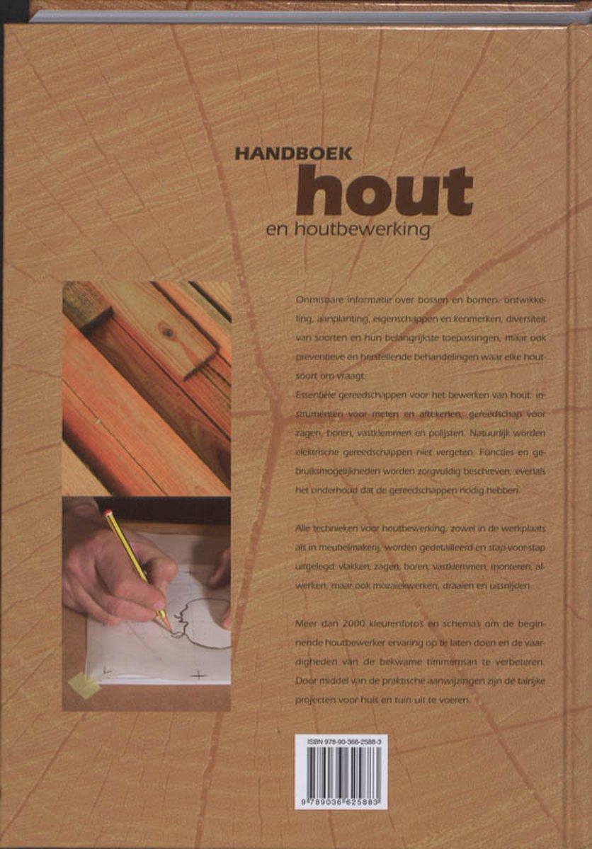 Bolcom Handboek Hout En Houtbewerking Merkloos
