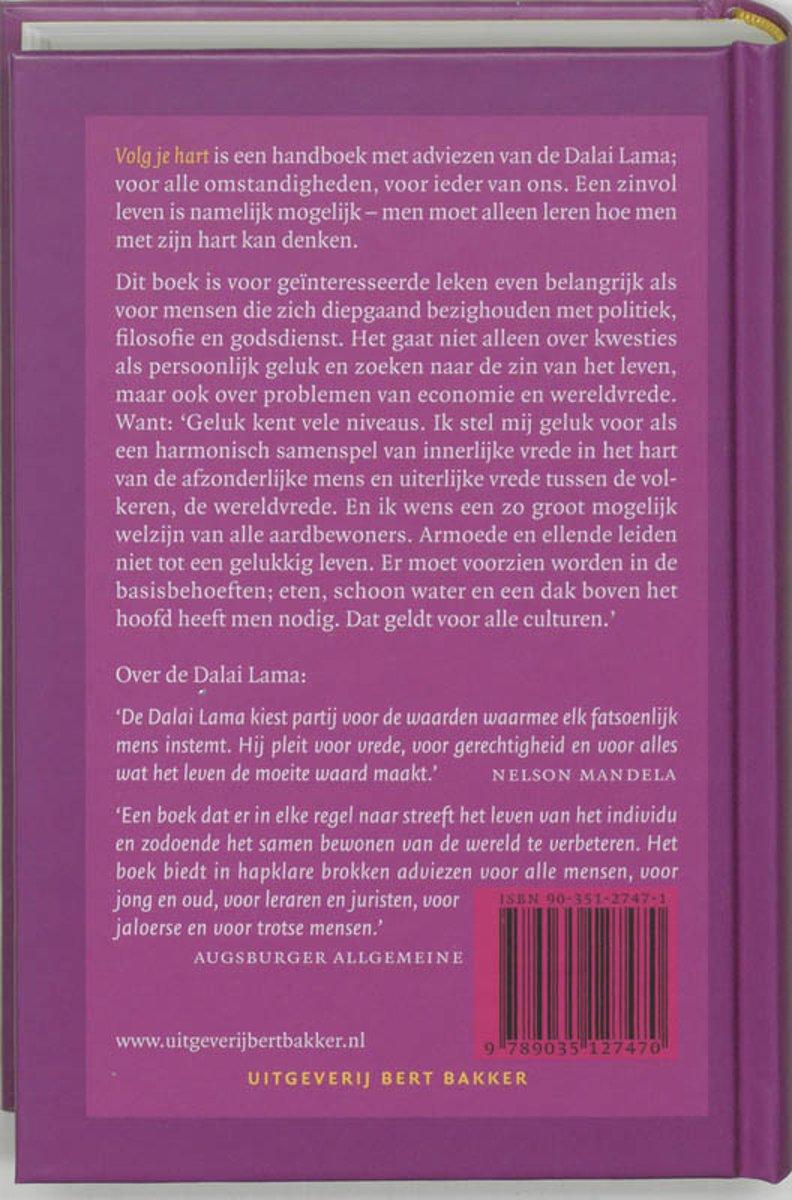bol.com | Volg Je Hart, Nagdban bstan dzin rgyamtsho | 9789035127470 |  Boeken