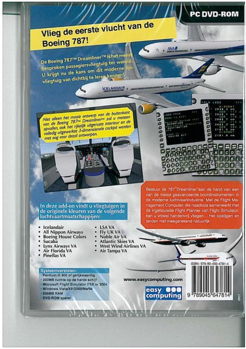 Flight Simulator X: Fly The Boeing 787 Dreamliner First Flight Edition