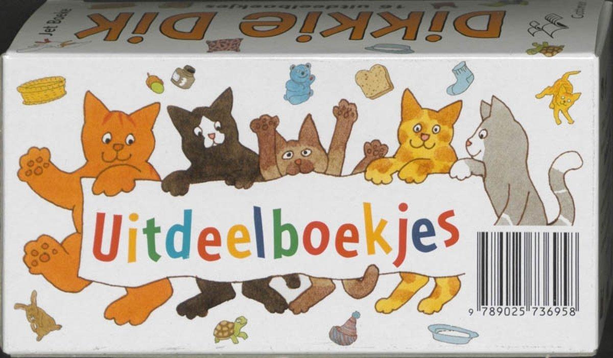 Bol Com Dikkie Dik Uitdeelboekjes 16 Ex J Boeke 9789025736958