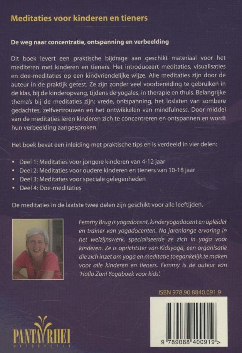 bol.com | Meditaties voor kinderen en tieners, Femmy Brug | 9789088400919 |  Boeken