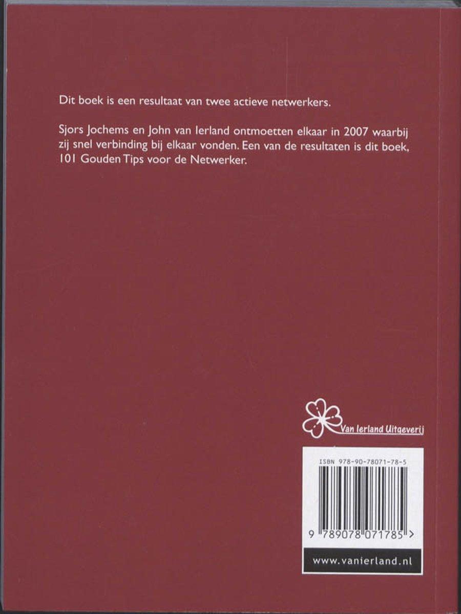 bol.com   101 gouden tips voor de netwerker, John van Ierland    9789078071785   Boeken