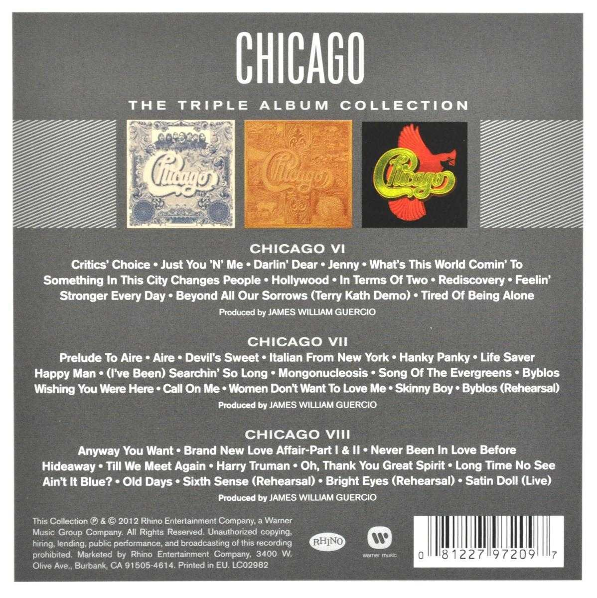 Bolcom Triple Album Collection Chicago Cd Album Muziek