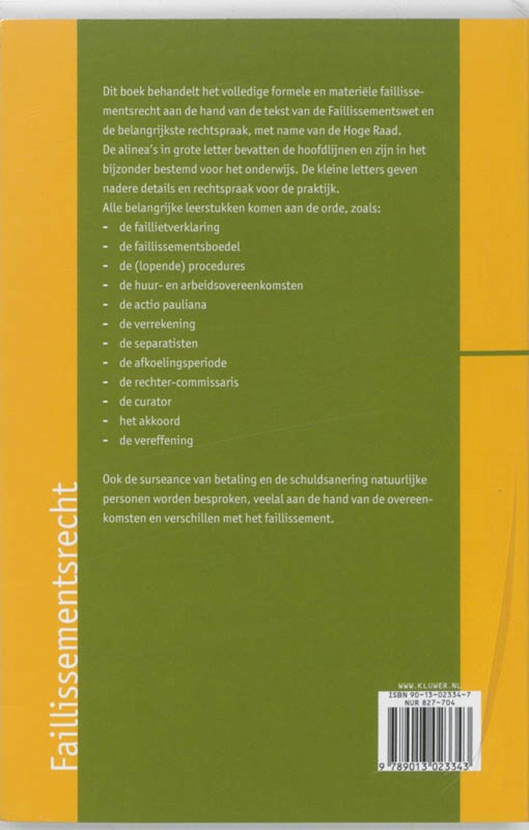 Top bol.com | Faillissementsrecht | 9789013023343 | N.J. Polak | Boeken GQ-08