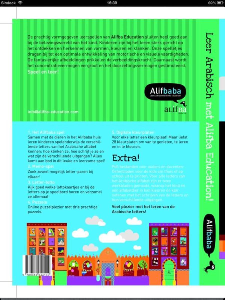 Kleurplaten Arabische Letters.Bol Com Leer Arabisch Met Alifba Education 9789082044102