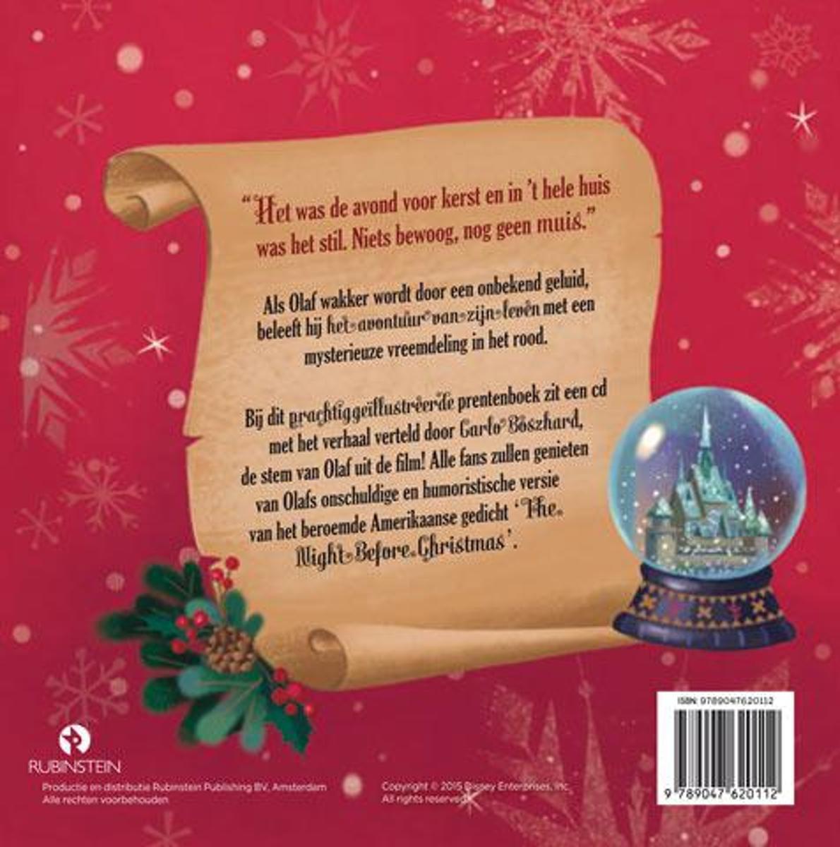 bol.com | Disney - Kerstavond met Olaf, Jessica Julius ...