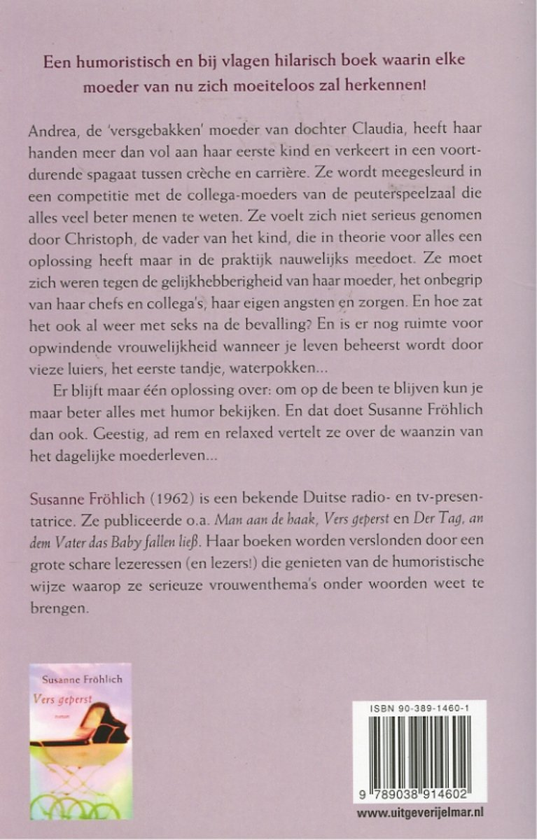 Bolcom Vers Gemaakt Susanne Frãhlich 9789038914602 Boeken