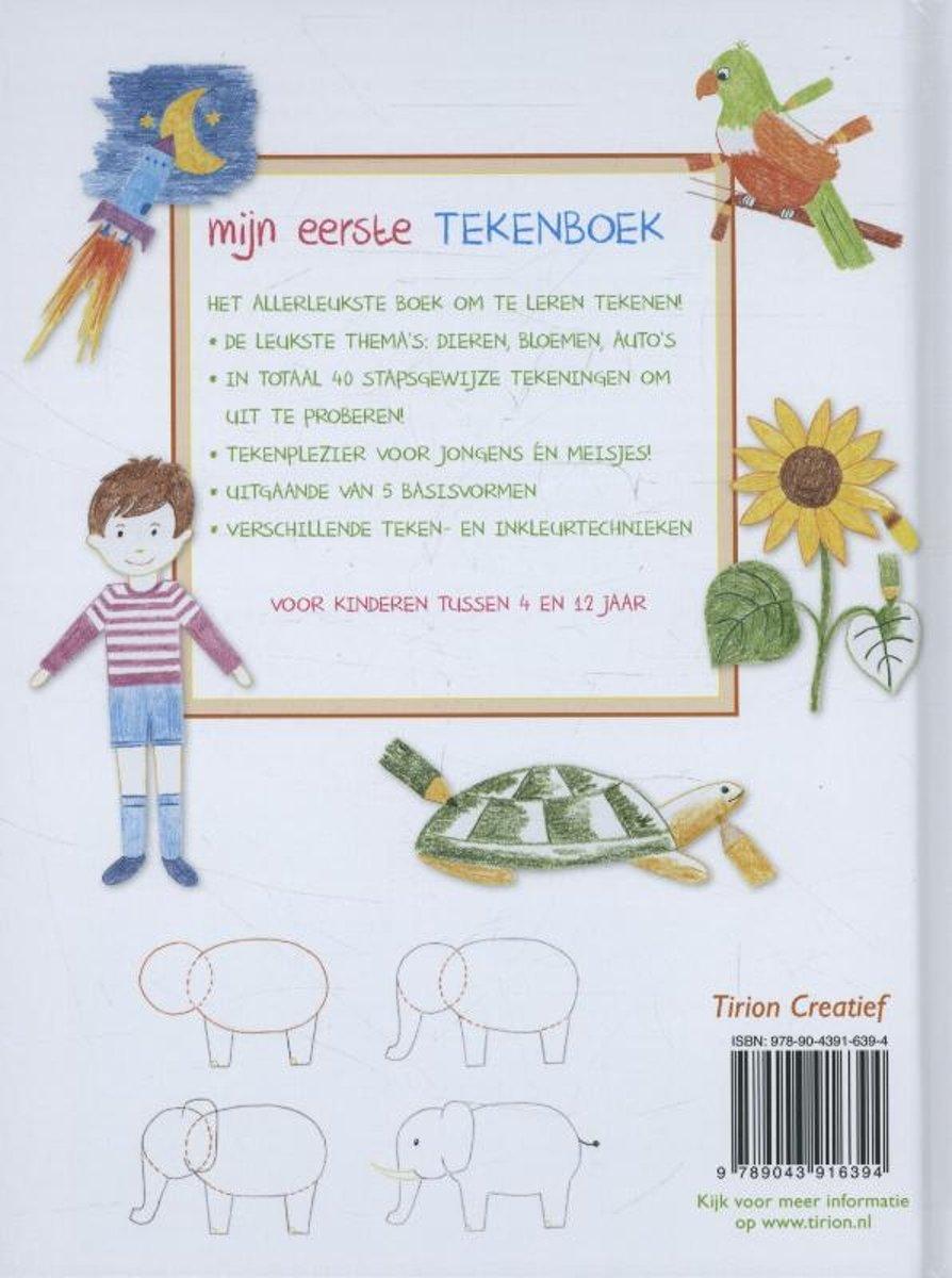 Bol Com Mijn Eerste Tekenboek Ute Ludwigsen Kaiser