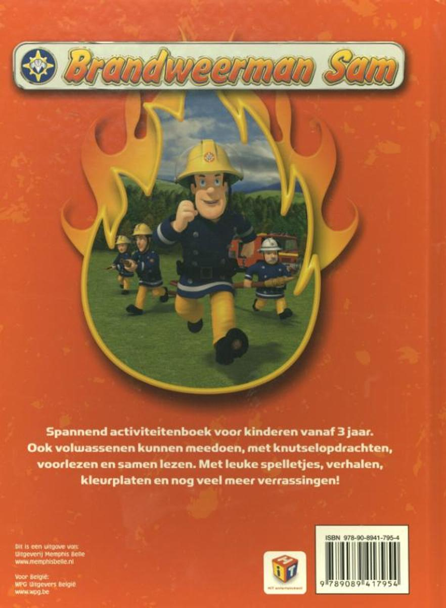 Leuke Kleurplaten Brandweerman Sam.Bol Com Brandweerman Sam Redder In Nood D Gingell