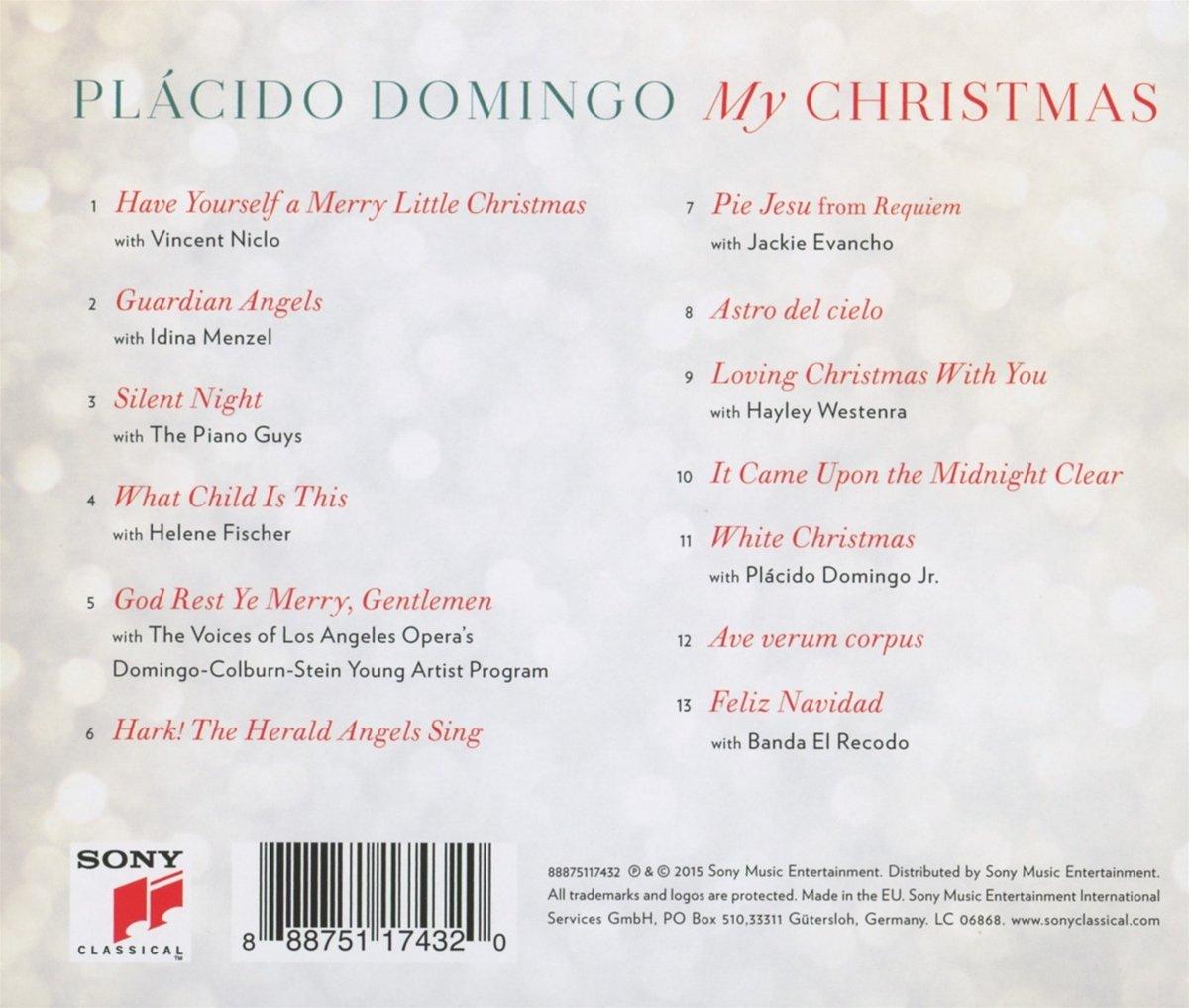 bol.com | My Christmas, Placido Domingo | CD (album) | Muziek