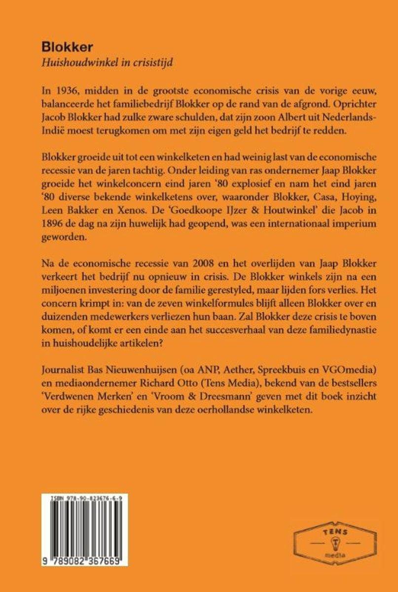 Blokker De Punten.Bol Com Blokker Bas Nieuwenhuijsen 9789082367669 Boeken