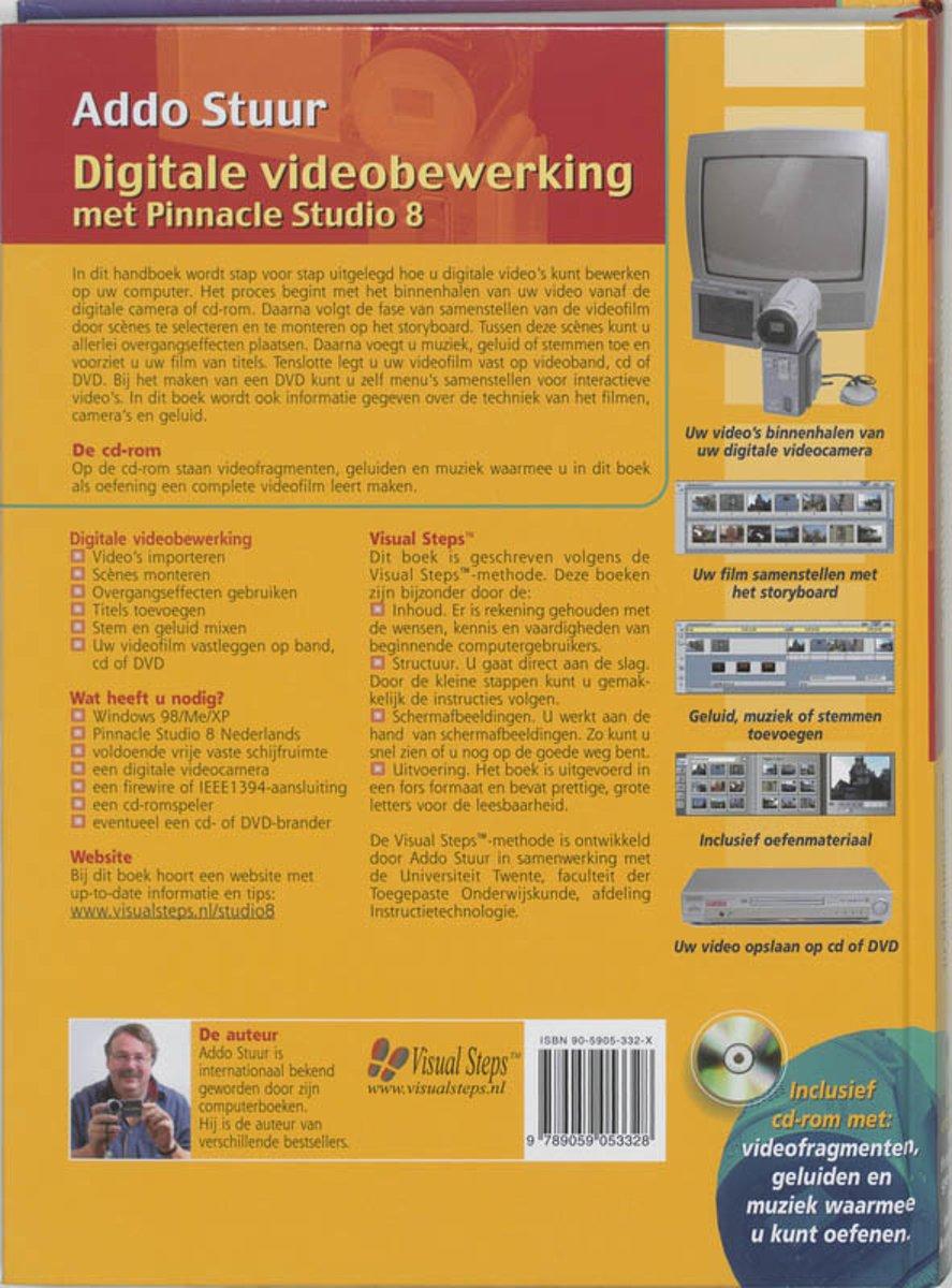 bol com | Digitale Videobewerking Met Pinnacle Studio 8, Addo Stuur