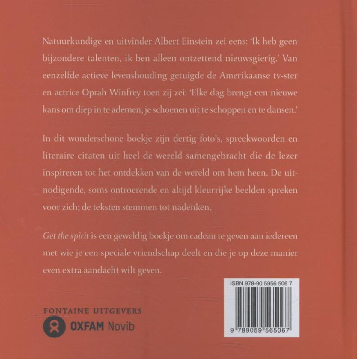 Citaten Uit Literatuur : Bol.com get the spirit 9789059565067 boeken
