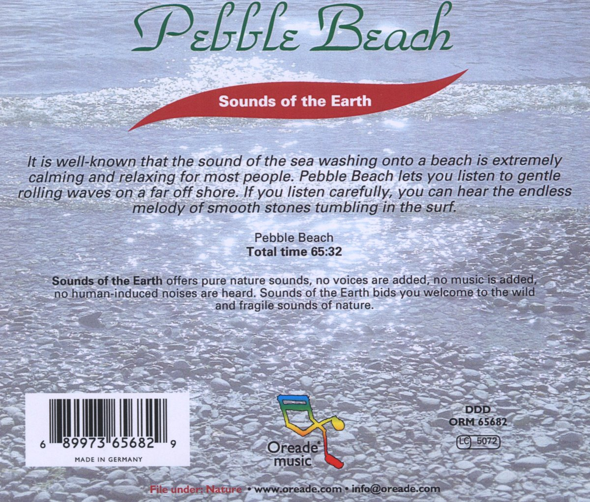 bol com | Pebble Beach, Sounds of the Earth | CD (album
